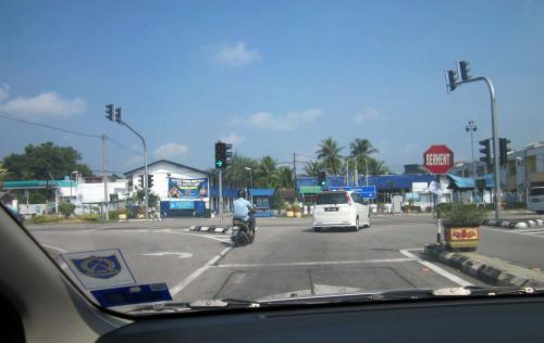 A road trip to kuantan day 1 for Garden shed johor